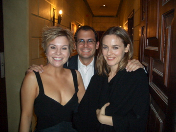 db Media founder, Dianna Bari with Alicia Silverstone and guest at pre-event for Cairo International Film Festival in Egypt