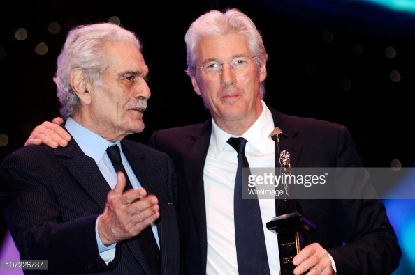 Richard Gere with Omar Sharif at Cairo International Film Festival - booked by db Media