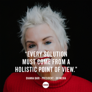 Every solution must come from a holistic point of view